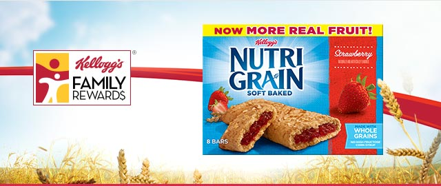 Buy 2: Kellogg's® Nutri-Grain® Bars coupon
