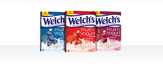 Welch's® Fruit 'n Yogurt™ Snacks coupon