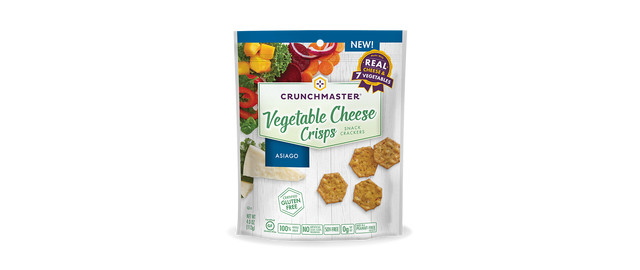 Crunchmaster® Vegetable Cheese Crisps   coupon