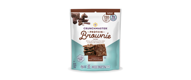 Crunchmaster® Protein Brownie Thins coupon