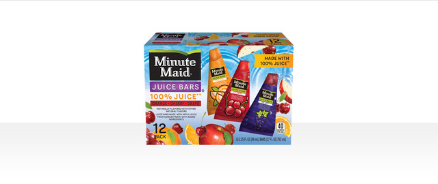 Minute Maid® Frozen Novelties coupon
