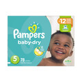 Dollarstore_Pampers® Baby Dry Box of Diapers_coupon_38493