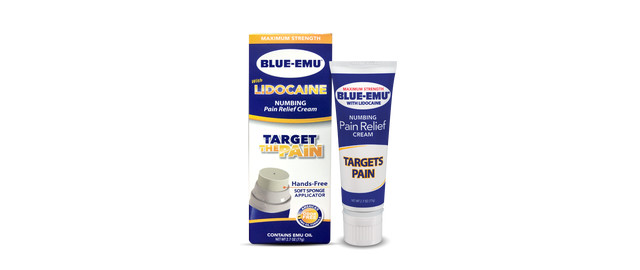 Blue Emu Lidocaine Numbing Pain Relief Cream coupon