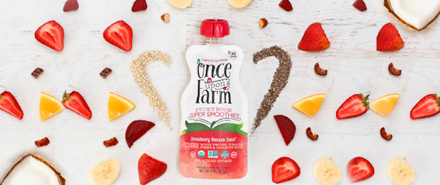 Once Upon a Farm Organic Cold-Pressed Storybook Smoothies coupon