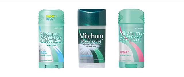 Mitchum deodorant coupon