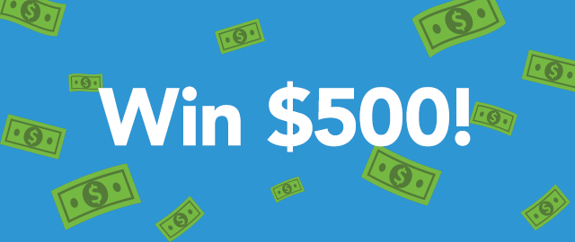 Any grocery trip for a chance to win $500† coupon