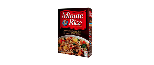 Minute Rice® Whole Grain Brown Rice coupon