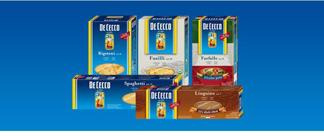 DeCecco pasta coupon