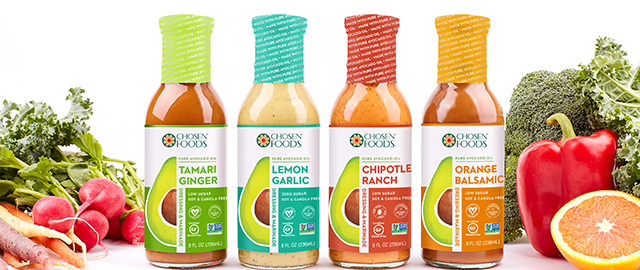 Chosen Foods® Avocado Oil Dressings coupon