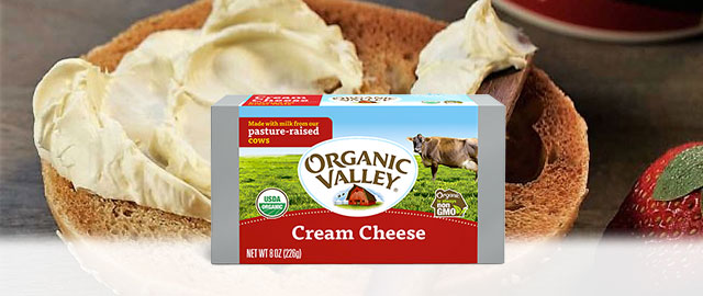 Organic Valley Cream Cheese coupon