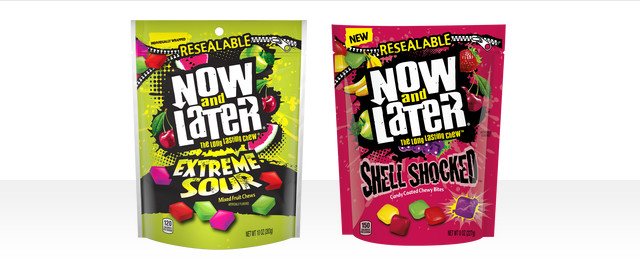 Now and Later® Shell Shocked® or Extreme Sour coupon