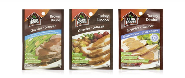 Any Club House Gravy Mix coupon