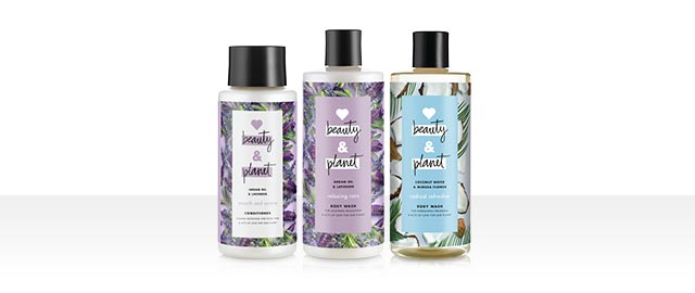Select Love Beauty & Planet Products coupon