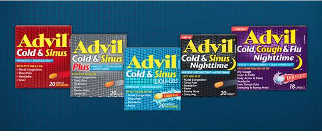 Advil® Cold & Sinus coupon