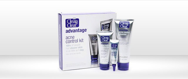 CLEAN & CLEAR® ADVANTAGE® Acne Control Kit coupon