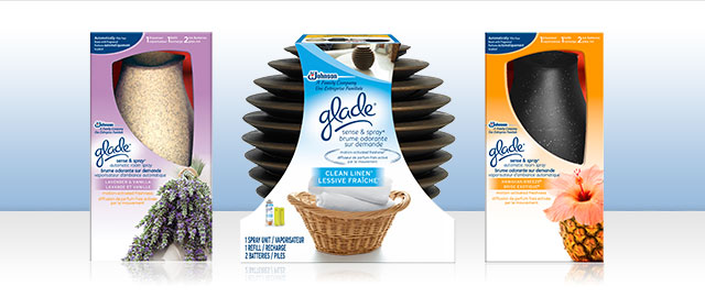 Glade® Sense & Spray® Automatic Freshener coupon