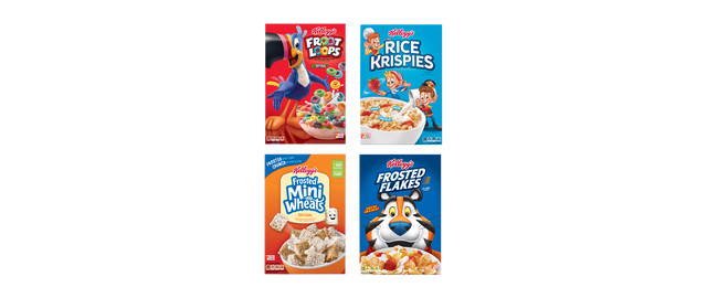 Buy 4: Kellogg's® Cereals coupon