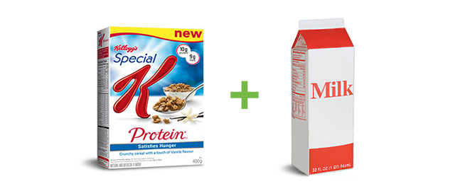 Kellogg's Special K* cereal + milk coupon