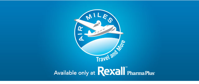 Spend $20 at Rexall & earn 30 reward miles coupon