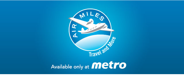 Spend $40 or more at Metro & earn 40 reward miles coupon