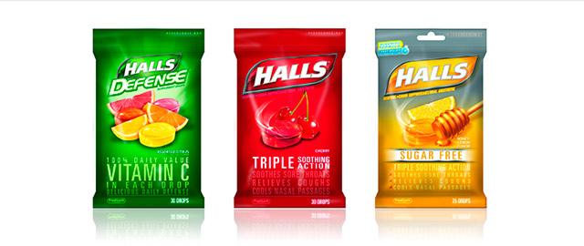 HALLS Drops Bags coupon