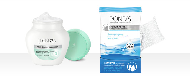 Pond's Cold Cream or Makeup Remover Wipes coupon