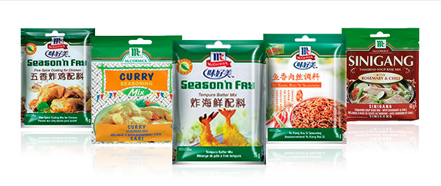 McCormick Authentic Asian Recipe Mixes coupon