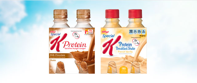 Buy 2: Kellogg's Special K Protein & Breakfast Shakes coupon