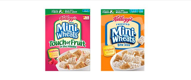 Buy 2: Kellogg's Frosted Mini-Wheats coupon