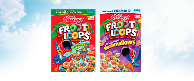Buy 2: Kellogg's Froot Loops coupon