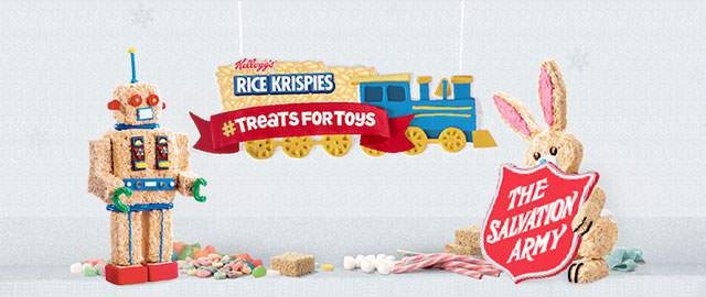 Rice Krispies Treats for Toys coupon