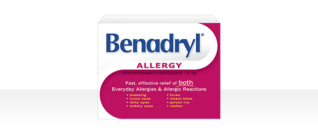 Benadryl® coupon