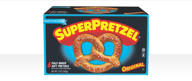 SUPERPRETZEL Soft Pretzels coupon