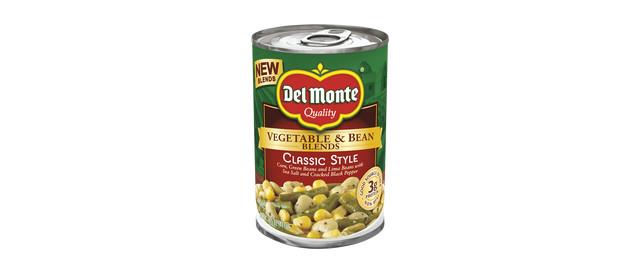 Del Monte Vegetable & Bean Blends coupon