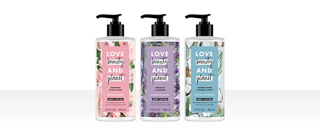 Love Beauty and Planet Body Lotion coupon
