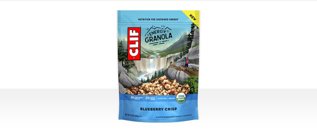 CLIF® Blueberry Crisp Energy Granola coupon