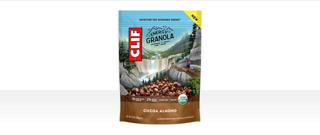 CLIF® Cocoa Almond Energy Granola coupon