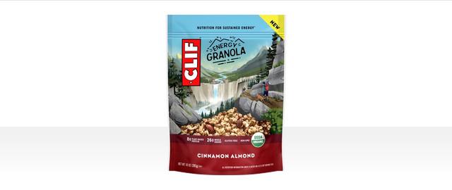 CLIF® Cinnamon Almond Energy Granola coupon