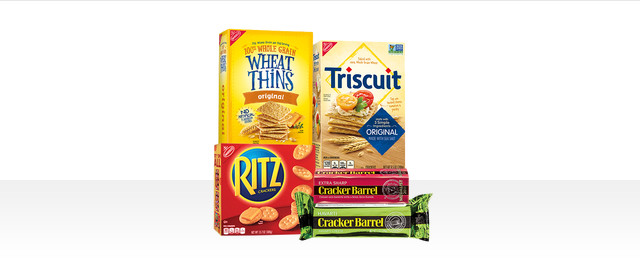 Buy 5: Select NABISCO or CRACKER BARREL Products coupon