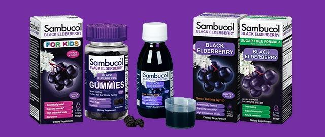 Sambucol Black Elderberry Immune Support coupon