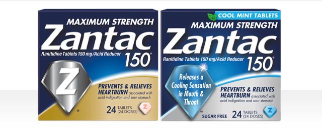 Zantac® select sizes coupon
