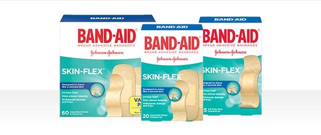 BAND-AID® SKIN-FLEX™  coupon