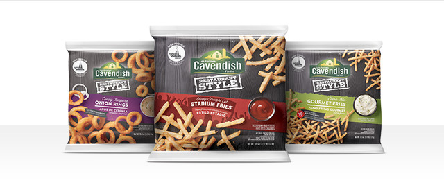 Cavendish Farms Restaurant Style Fries or Onion Rings coupon