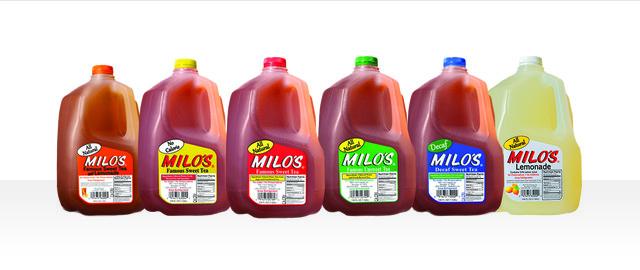 Milo's Tea or Lemonade coupon