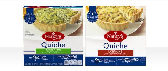 Nancy's Quiche coupon
