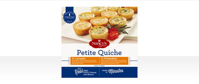 Nancy's Petite Quiche coupon