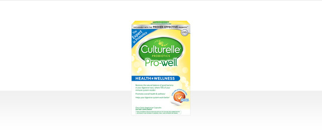 Culturelle® Pro-Well Health & Wellness Probiotics coupon