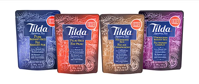 Tilda Steamed Basmati Rice coupon
