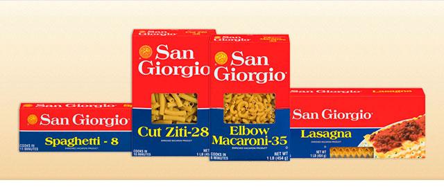 San Giorgio pasta coupon