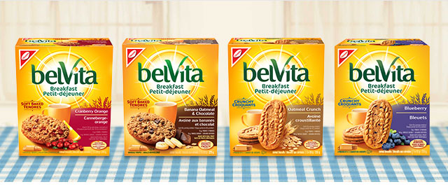 belVita Breakfast Biscuits coupon